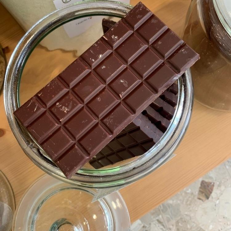 CHOCOLAT NOIR 63% AUX AMANDES BIO TABLETTE