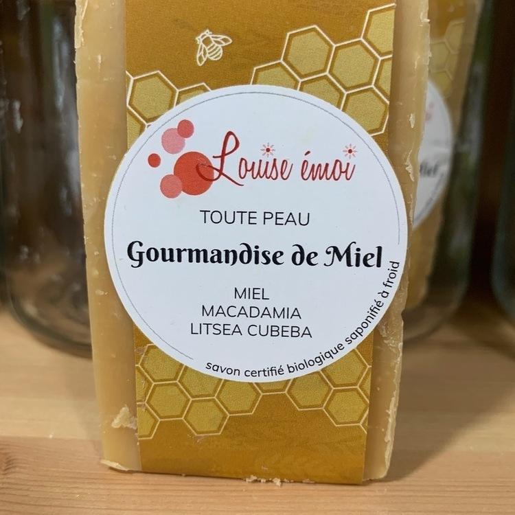 """Savon à froid au miel """"Gourmandise de Miel"""""""
